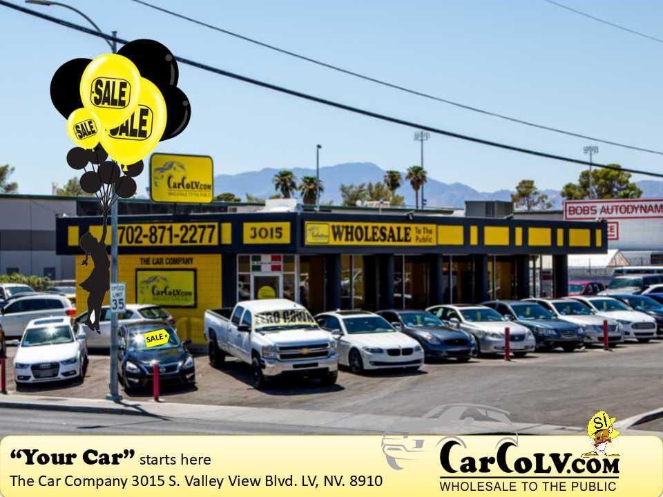 Used Cars For Sale Las Vegas >> Carcolv Com The Car Company Las Vegas Bargain Priced Used